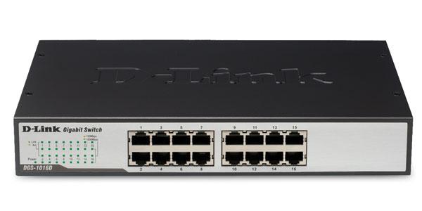 Dlink DGS1016D- 16 cổng (10/100/1000Mbps)