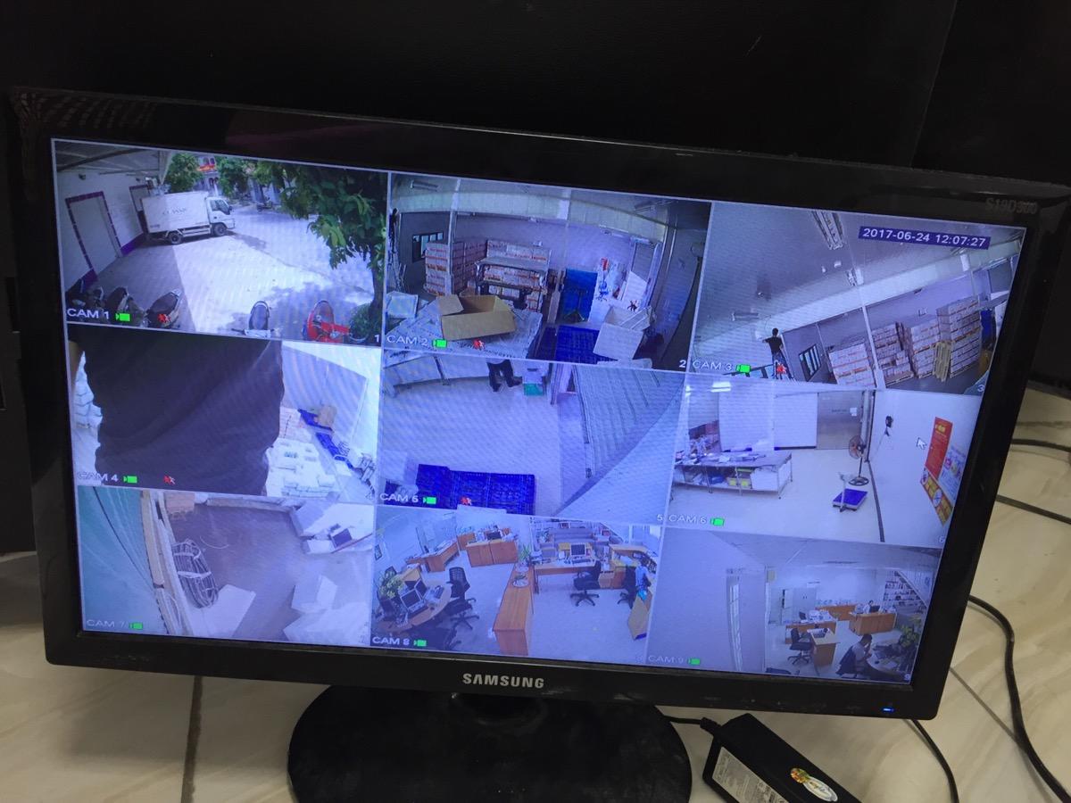 Thi công mạng - camera tại Công Ty TNHH Thực Phẩm NGON CỔ ĐIỂN