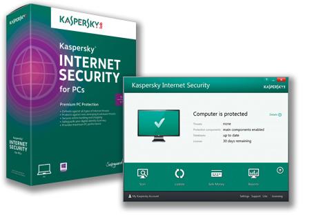 Kaspersky Internet Security BẢN QUYỀN giá rẻ nhất hà nội