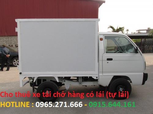 Cho thuê xe tải chở hàng có lái (tự lái)
