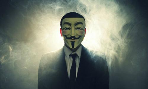 Anonymous dọa tấn công website nhà nước Trung Quốc