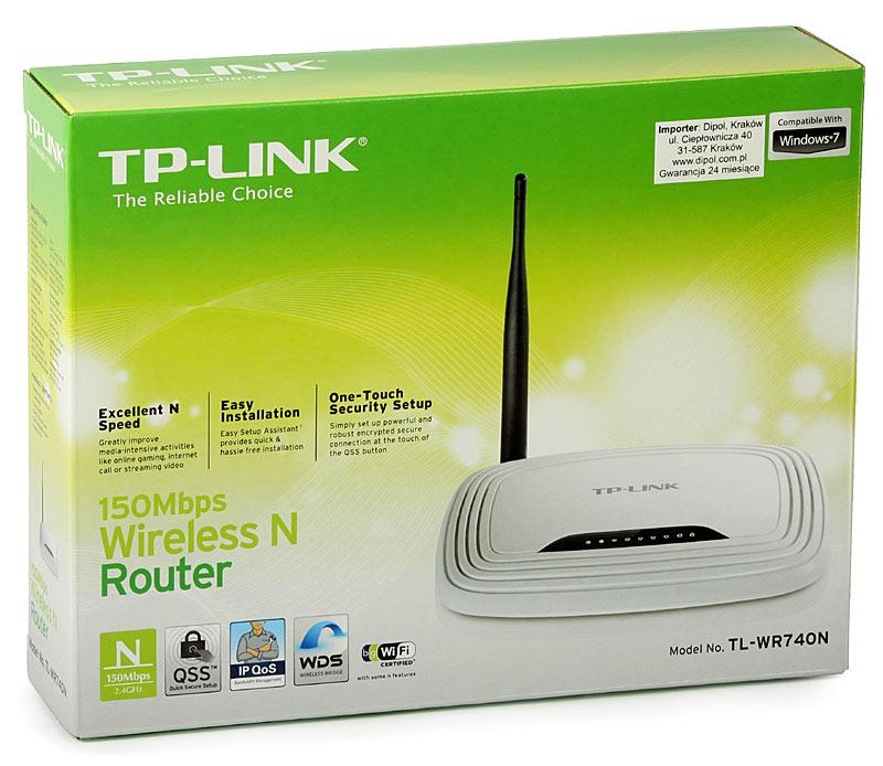TP-Link TL-WR740N - 150Mbps Wireless N Router