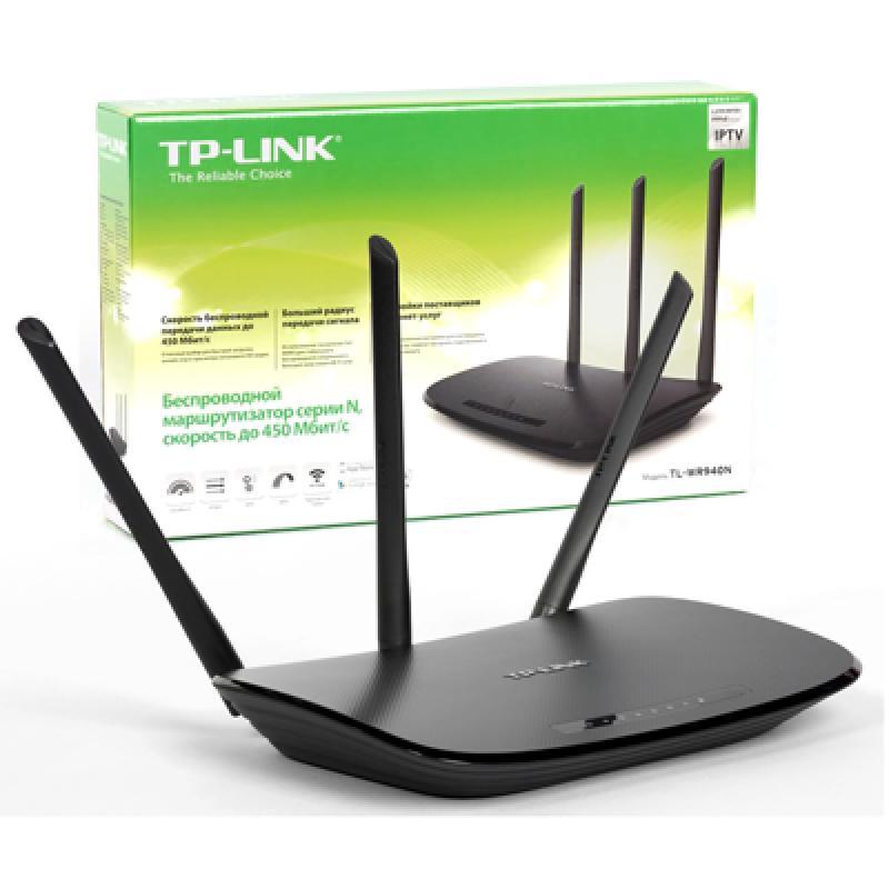 TP-Link WR940N (4 cổng /tốc độ mạng 10/100Mbps /tốc độ Wifi 300Mbps/ 3 Ăngten)