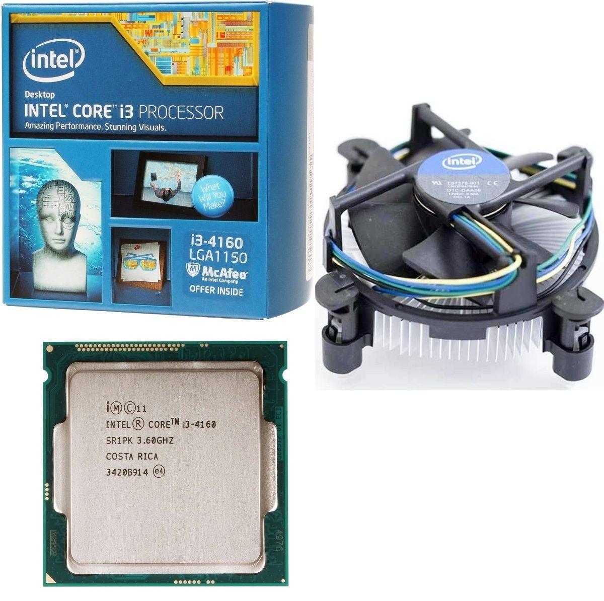 Bộ vi xử lý Intel® Core™ i3-4160 - 3.60GHz / 3M / Sk1150