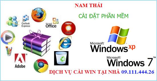 Cài Win máy tính, sửa mạng, sửa dây điện thoại tại Dương Đình Nghệ