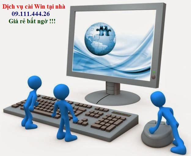 Cài win máy tính, sửa mạng, sửa dây điện thoại tại Hồ Tùng Mậu