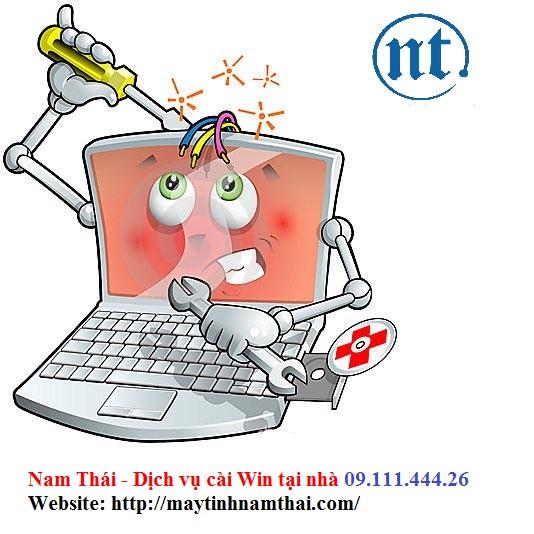 Cài win máy tính, sửa mạng, sửa dây điện thoại tại Lê Quang Đạo