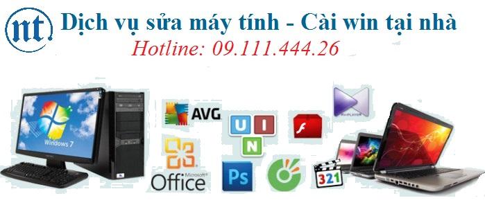 Cài win máy tính, sửa mạng, sửa dây điện thoại tại Lê Quý Đôn
