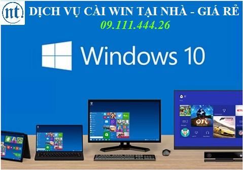 Cài win máy tính, sửa mạng, sửa dây điện thoại tại Mỗ Lao