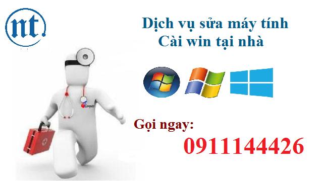 Cài win máy tính, sửa mạng, sửa dây điện thoại tại Nguyễn Bỉnh Khiêm