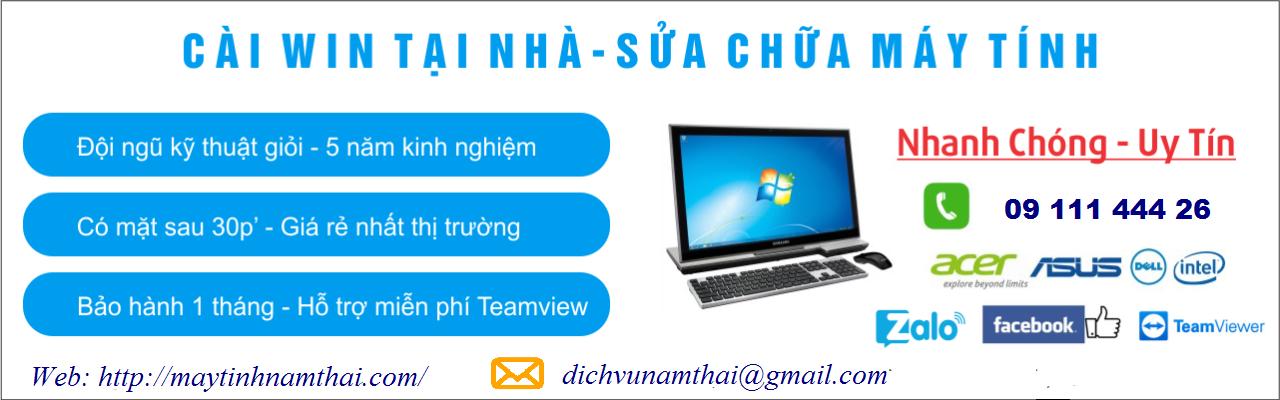 Cài win máy tính, sửa mạng, sửa dây điện thoại tại Thanh Bình