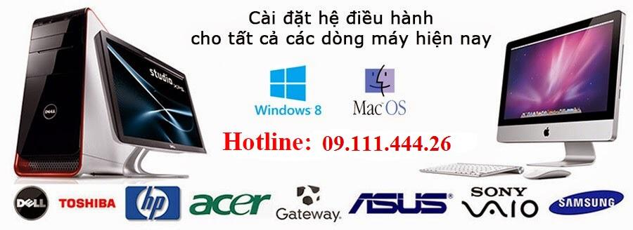 Cài win máy tính, sửa mạng, sửa dây điện thoại tại Trần Văn Cẩn