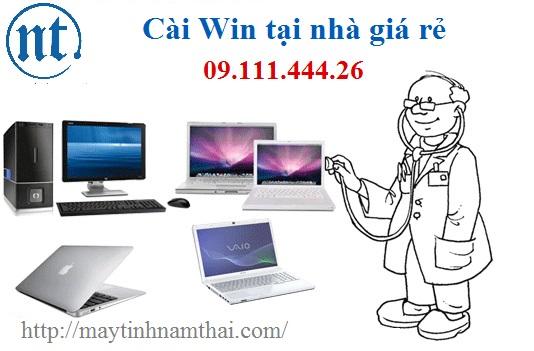 Cài win máy tính, sửa mạng, sửa dây điện thoại tại Xuân Phương