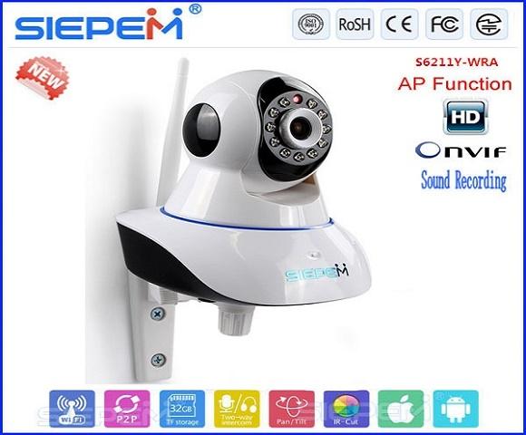 Camera IP WIFI 3G Siepem S6203 Chất lượng 720P RẺ NHẤT