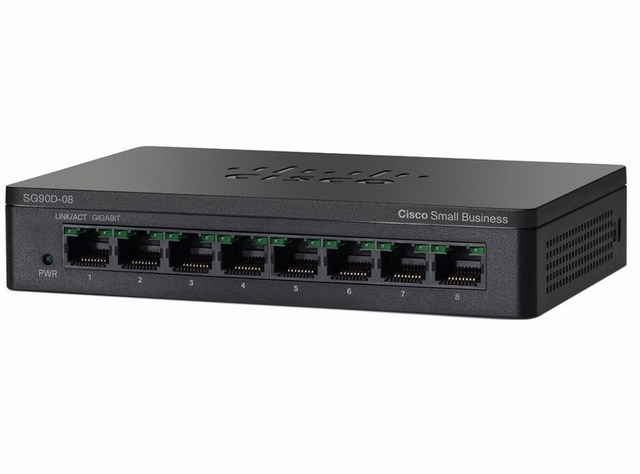 Cisco SG95D-08- 8 cổng (10/100/1000Mbps)