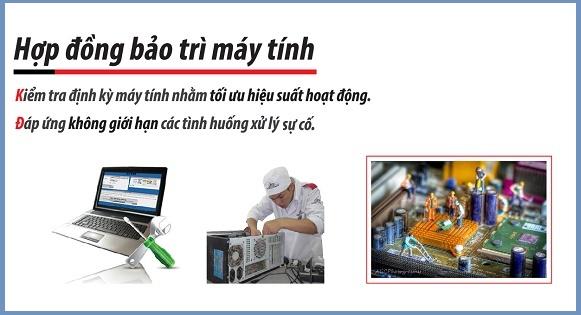 Dịch vụ bảo trì máy tính văn phòng tại Hà Nội