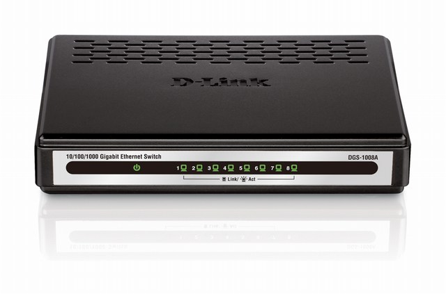 Dlink DGS1008A- 8 cổng (10/100/1000Mbps)