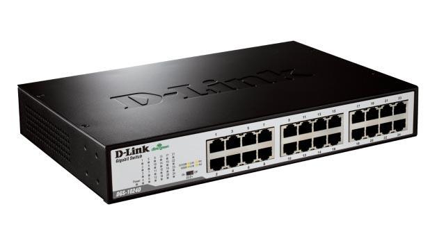 Dlink DGS1024D- 24 cổng (10/100/1000Mbps)