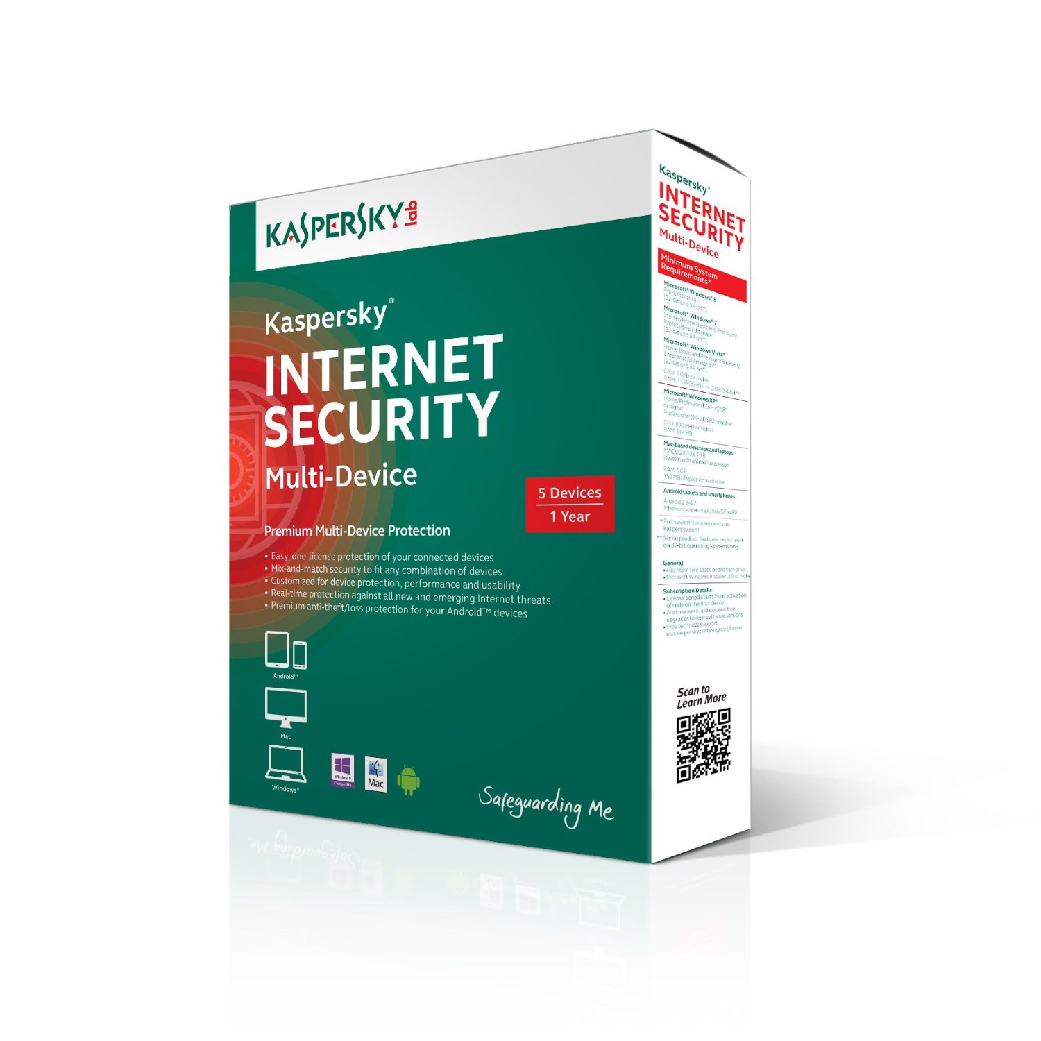 Kaspersky Internet Security – Multi Devices 5 máy