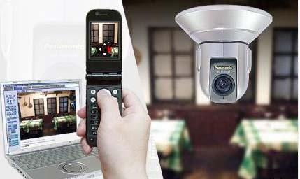 Lắp đặt camera giám sát qua điện thoại
