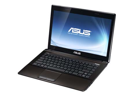 Laptop Asus K43 core i5 ram 4gb