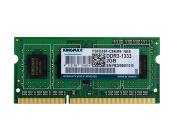 RAM KingMax 2GB DDR3 Bus 1333ghz