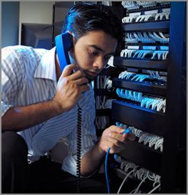Sửa đường dây điện thoại khu vực Cầu Giấy