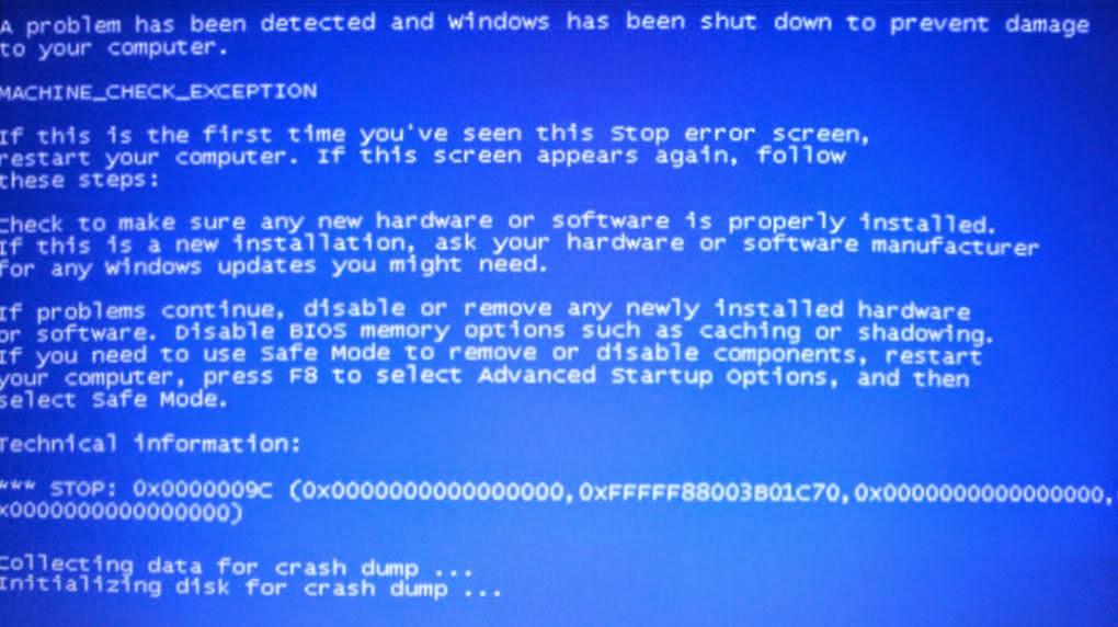 """Sửa lỗi """"màn hình xanh chết chóc"""" trên máy tính"""