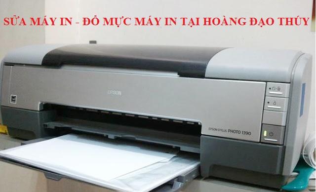 Sửa máy in tại Hoàng Đạo Thúy