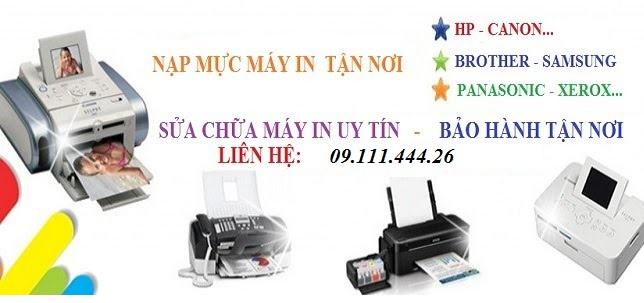 Sửa máy in tại Trần Thái Tông