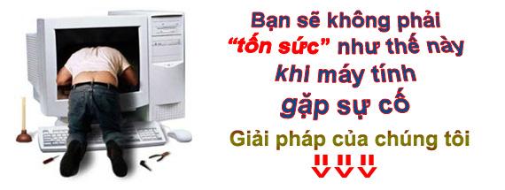 Sửa máy tính tại Nguyễn Thị Thập