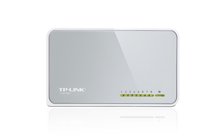 Switch TP-Link TL-SF1008D - 8 Port 10/100