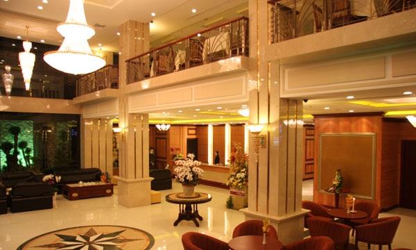 Thi công hệ thống điện chiếu sáng cho khách sạn