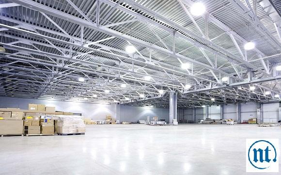 Thi công hệ thống điện chiếu sáng cho nhà xưởng