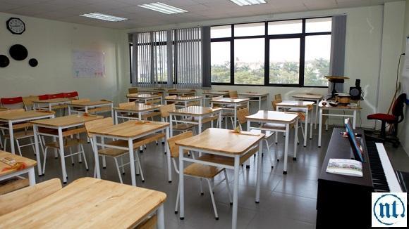Thi công hệ thống điện chiếu sáng cho trường học