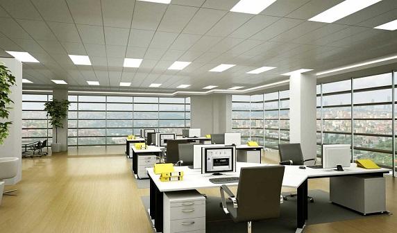 Thi công hệ thống điện chiếu sáng cho văn phòng
