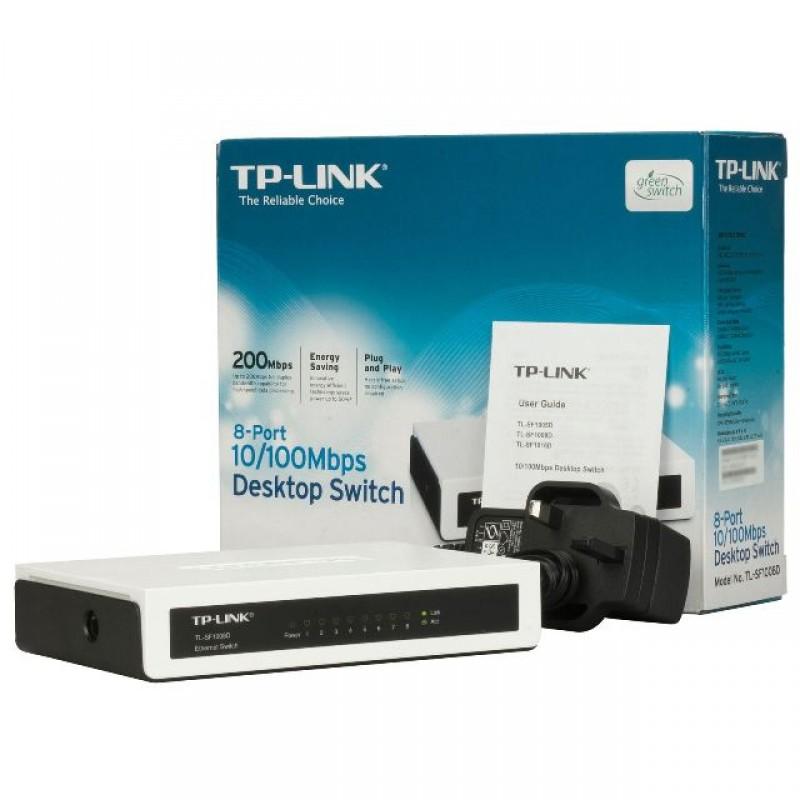 TP-Link SF1008D- 8 cổng (10/100Mbps)