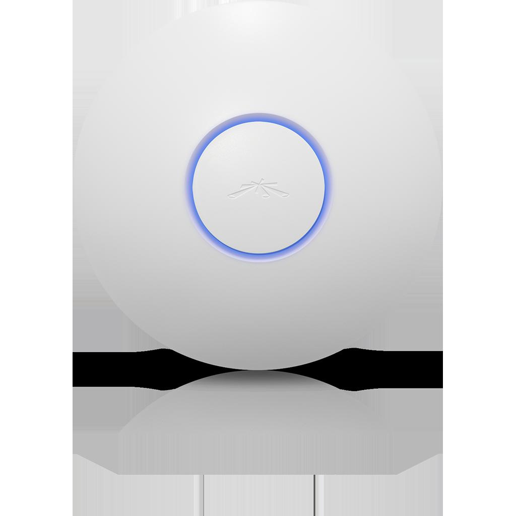 Ubiquiti UniFi AP PRO - Hàng USA. Hai băng tần, LAN 1Gb, Sức tải 200 máy.